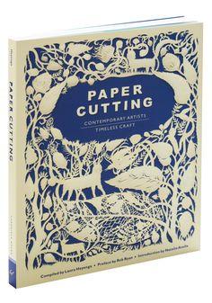 Paper cutting book