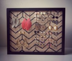 I've searched the web many times trying to find a great DIY for an Earring Holder. The only ones I found were great for Hanging Earrings but not for studs. This was a problem for me, consider…
