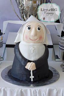 Flying Nun Cake
