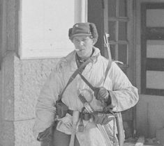 Finnish soldier defender in Viipuri on March 13, 1940. He found the sabre hanging on the wall of an apartment.