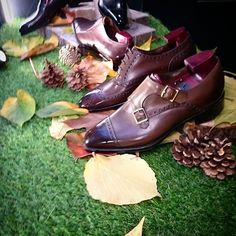 Fall has come at 39 Savile Row #shoes #shoeporn #men #menstyle #menshoes #doublemonk #fall