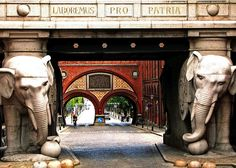 Carlsberg Elephants, Copenhagen
