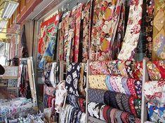 Tokyo Nippori Textile Town | Fabric District