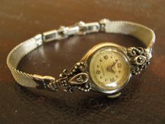 vintage watch. So pretty.