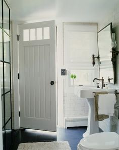 Love the Bathroom Door!!....