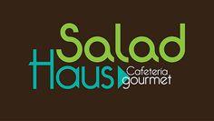 """Diseno de Logo """"Salad Haus"""" Cafeteria Gourmet MX/DF"""