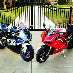 Which would you choose? Photo: @andrichristian Send us your pictures and videos by DM for a chance to be featured #motorbike #motorcycle #sportsbike #yamaha #honda #suzuki #kawasaki #ducati #triumph #victory #buell #aprilia #harleydavidson #r1 #r6 #cbr #gsxr #fireblade #hayabusa #zx10r #bmw #s1000rr #panigale #ktm #bikelife #Twowheelpassion