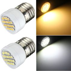 E27 1.5W Non-Dimmable 24 SMD 3528 LED Corn Spot Light Lamp Bulb 85-265V
