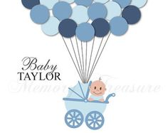 Baby Dusche Gast Buch Alternative Gast anmelden von MemoryTreasure