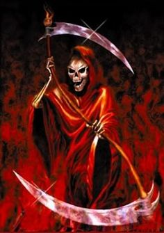 Get free image hosting, easy photo sharing, and photo editing. Death Reaper, Grim Reaper Art, Don't Fear The Reaper, The Crow, Gothic Fantasy Art, Dark Fantasy, Iron Maiden Posters, Reaper Tattoo, Flame Art
