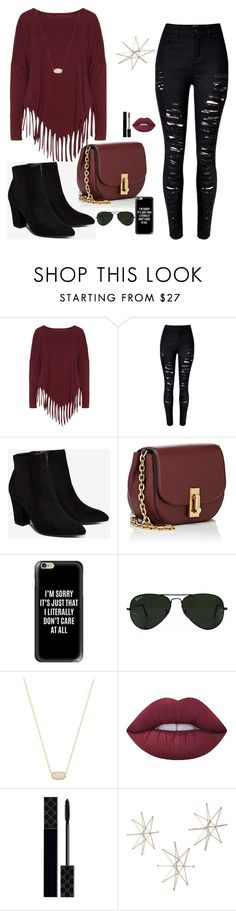 """""""Untitled #18"""" by sthelicetti ❤ liked on Polyvore featuring beauty, Boris, Billini, Marc Jacobs, Casetify, Ray-Ban, Kendra Scott, Lime Crime, Gucci and Uttermost"""