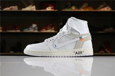 237448b0465351 Best Price Off White x Air Jordan 1 White Cheap Sale Real Jordans