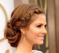 Stylish evening hairstyles: New Year Braided Bun Hairstyles, Loose Hairstyles, Headband Hairstyles, Trendy Hairstyles, Hairstyle Ideas, Evening Hairstyles, Best Wedding Hairstyles, Medium Hair Styles, Short Hair Styles