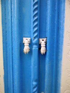 Porte blu, Tunisie