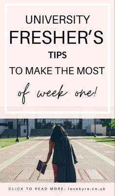 Freshers week isn't too long away in the UK and there's so many things you can do to start your first year at uni right! Don't make the same mistakes as everyone else and follow these simple fresher's tips! #university #college #freshersweek You Can Do, Just Go, Small Celebrities, Fresher Tips, Weekly Budget, University College, Love Island, Good Grades, Getting Drunk