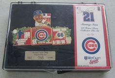 Chicago Cubs 1998 Sammy Sosa Season Pin Set #733 Of 5000 #Unbranded #ChicagoCubs