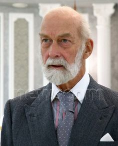 Britain's Prince Michael of Kent looks on during his meeting with Belarus President Alexander Lukashenko (unseen) in Minsk, Belarus, 11 October 2016. Prince Michael of Kent is on a working visit to Belarus from 10 to 13 October