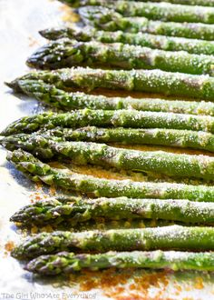 Simple Roasted Asparagus - the-girl-who-ate-everything.com