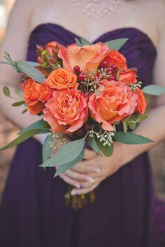 3 Orange Wedding Color Palettes | mywedding.com