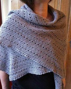 Eva s Shawl Free Crochet Pattern : Free Crochet Prayer Shawl Patterns lace crochet shawl ...
