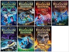 7 Books: Kingdom Keepers Collection - Disney After Dark, Disney at Dawn, Disney in Shadow, Power Play, Shell Game, Dark Passage, The Insider: Ridley Pearson: 9781608841806: Amazon.com: Books