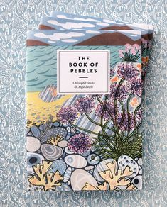 'The Book of Pebbles' by Christopher Stocks, illustrated throughout by Angie Lewin, will be published in paperback form by Thames & Hudson in early April 2020 Angie Lewin, Limited Edition Prints, Book Design, The Book, New Books, Screen Printing, How To Find Out, History, Artist