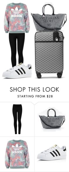 """Untitled #313"" by cannonsamiya on Polyvore featuring Wolford, Victoria's Secret and adidas"