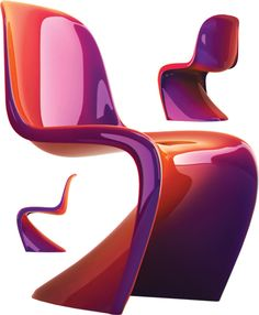Takes the Panton chair to a whole new level.