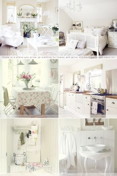 French country/Shabby chic. it-s-all-in-the-details