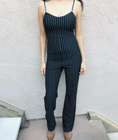 175ca0fded Extra Off Coupon So Cheap Forever 21 White And Black Striped Jumpsuit  Rompers Med Cotton