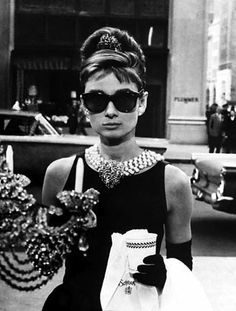 Holly Golightly, Breakfast at Tiffany's  - Audrey Hepburn, May 4, 1929 – January 20, 1993