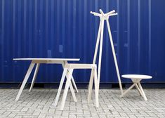 Keystones furniture by Minale-Maeda at Istanbul Design Biennial