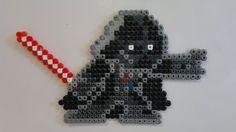 Star Wars - Darth Vader (Mega Man style) perler beads by Björn Börjesson