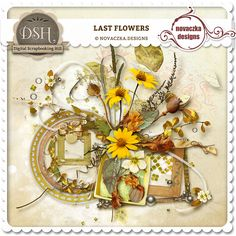Last flower : Digital Scrapbooking Hill.com