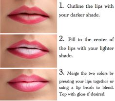 How To: Ombre Lips (Perfect for Valentine's Day) Find more Naturally-Based Makeup Tips and Techniques at: https://www.facebook.com/physicareTM
