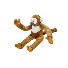 Fluff and Tuff Albert Monkey Plush Dog Toy ** Want to know more, click on the image. (This is an affiliate link and I receive a commission for the sales) #PetDogs