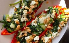 Pasta Salad, Cobb Salad, Feta, Vegetable Pizza, Vegetables, Ethnic Recipes, Weight Control, Pastels, Zucchini