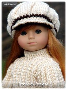 Debonair Designs: Free Knitting Patterns -- Newsboy cap