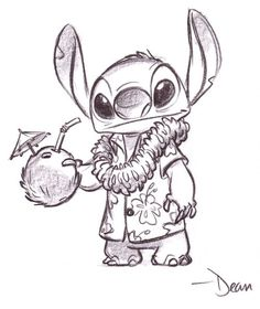 Originally, Stitch was going to be an intergalactic gangster, Jumba was going to be a disgruntled member of his gang who was left behind during a heist and was going after him as revenge, and the other members of the gang would have been the ones who came to get him in the third act.    Lilo and Stitch (2003)