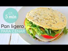 Pan ligero y saludable en menos de 5 min | CENAS SALUDABLES - YouTube