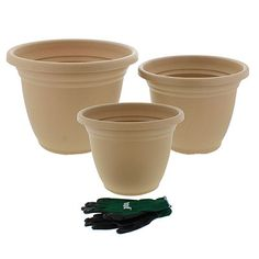 Low Price DecoStone Planter - Plastic Plant Pots