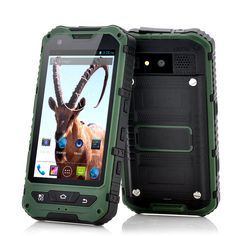 Android 4.2 Rugged Phone IP67 Water 3G Dual SIM GSM 4GB Duo Core Military GPS FM