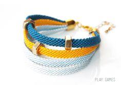 Friendship Bracelet    http://de.dawanda.com/product/44375734-Armband-Play-Games