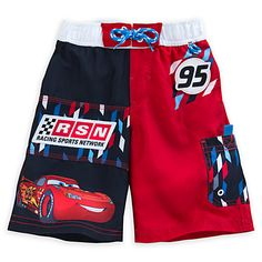 Lightning McQueen Swim Trunks for Boys | Disney Store