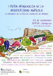 VI JORNADAS DE LA RED DE SEMILLAS DE ARAGÓN. ¡¡En Septiembre nos vamos de feria a Borja!!!