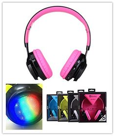Cheap Vitech Super Comfortable Wireless Bluetooth LED flash Over Ear Headphones with Mic Wireless and Wired Dual Mode active noise cancelling (Pink) https://beatswirelessheadphonesreviews.info/cheap-vitech-super-comfortable-wireless-bluetooth-led-flash-over-ear-headphones-with-mic-wireless-and-wired-dual-mode-active-noise-cancelling-pink/