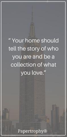Create a home that is YOU. #QOTD