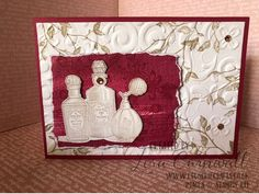 Fanciful Fragrance Pineapple Punch, Cut Image, Old Movies, Flourish, Stuff To Do, Stampin Up, Perfume Bottles, Fragrance, Girly