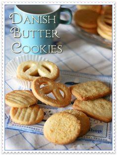biscotti danesi al burro