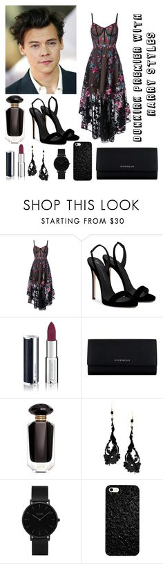 """""""Dunkirk Premier with Harry Styles"""" by one-direction-forever-young ❤ liked on Polyvore featuring Notte by Marchesa, Giuseppe Zanotti, Givenchy, Victoria's Secret, Alberta Ferretti and CLUSE"""